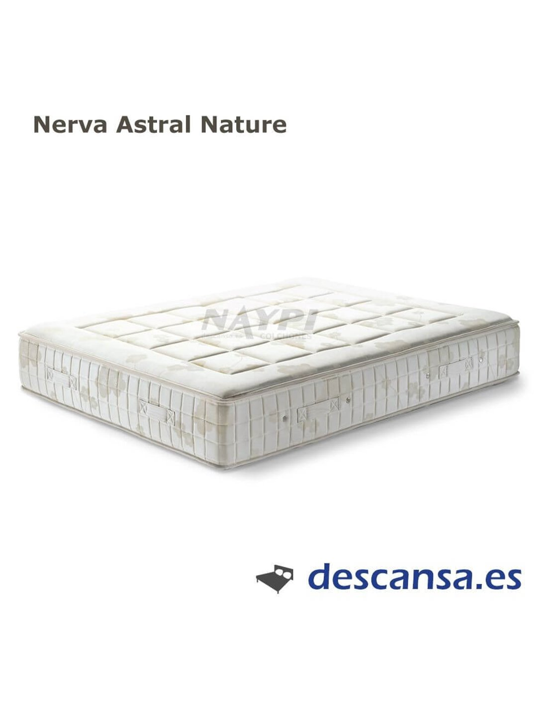 Pack Colchón Nerva Firm y Topper Nerva natural de ASTRAL NATURE,